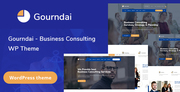 Gourndai - Business Consulting WordPress Theme